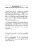 Thành phần hóa học của tinh dầu bụt mọc (taxodium disctichum (l.) rich.) ở Việt Nam