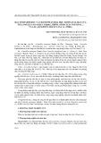 Đặc tính sinh học và thành phần hóa học trong dầu hạt của sở (camellia sasanqua thunb.), trôm (sterculia foetida l.) và lai (aleurites moluccana (l.) willd.)