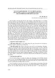 Sản xuất khí sinh học từ cây hướng dương (helianthus annuus l.) sau khi dùng để xử lý đất bị nhiễm bẩn bởi kim loại nặng