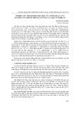 Nghiên cứu thành phần hoá học của tinh dầu lá cây sầu đâu cứt chuột (brucea javanica (l.) merr.) ở Nghệ An