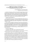 Nghiên cứu tác động của butachlor lên hệ thống chống oxy hóa và các chỉ số hóa sinh ở tôm rảo đất (metapenaeus ensis)