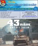 Tài liệu sinh hoạt Chi Đoàn tháng 4-2018