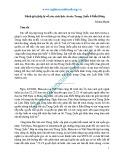 Đánh giá pháp lý về yêu sách lịch sử của Trung Quốc ở Biển Đông