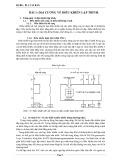 PLC cơ bản - Bài 1: Đại cương về điều khiển lập trình