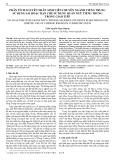 Phân tích nguyên nhân sinh viên chuyên ngành tiếng Trung sử dụng sai hoặc hạn chế sử dụng quán ngữ tiếng Trung trong giao tiếp