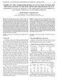 Nghiên cứu thực nghiệm ảnh hưởng của tỷ lệ nước/xi măng đến biến dạng co ngót của bê tông trong điều kiện khí hậu Gia Lai