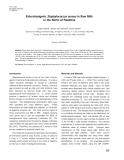 Enterotoxigenic staphylococcus aureus in raw milk in the North of Palestine