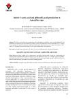 Indole-3-acetic acid and gibberellic acid production in Aspergillus niger