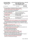 Đề thi thử THPT Quốc gia môn Lịch sử năm 2019 lần 1 - Sở GD&ĐT Nghệ An - Mã đề 306