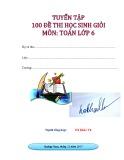 Tuyển tập 100 đề thi học sinh giỏi môn Toán lớp 6