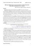 Hiệu quả điều trị của fluconazole và itraconazole trên bệnh nấm móng do candida