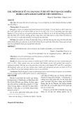Đặc điểm dịch tễ và lâm sàng ở trẻ sốt phát ban do nhiễm rubella đến khám tại Bệnh viện Nhi Đồng 2