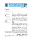 Phân tích hiệu quả tài chính của mô hình nuôi tôm sú thâm canh ở tỉnh Cà Mau