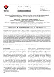 Diversity and functional traits of spontaneous plant species in Algerian rangelands rehabilitated with prickly pear (Opuntia ficus-indica L.) plantations
