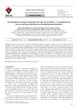 Morphological, chemical, and genetic diversity of Gypsophila L. (Caryophyllaceae) species and their potential use in the pharmaceutical industry