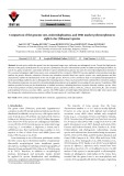 Comparison of the genome size, endoreduplication, and ISSR marker polymorphism in eight Lotus (Fabaceae) species