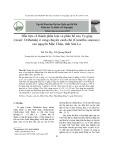 Dẫn liệu về thành phần loài và phân bố của Ve giáp (Acari: Oribatida) ở vùng chuyên canh chè (Camellia sinensis) cao nguyên Mộc Châu, tỉnh Sơn La