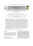 Nghiên cứu bào chế curcumin dạng phytosome và dạng PEG hóa