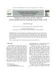 Tổng hợp và đặc trưng vật liệu composite hydroxyapatite/chitosan ứng dụng trong kỹ thuật y sinh