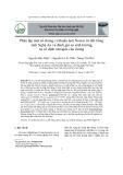 Phân lập một số chủng vi khuẩn lam Nostoc từ đất trồng tỉnh Nghệ An và đánh giá sự sinh trưởng, sự cố định nitrogen của chúng