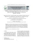 Nghiên cứu phân lập thành phần hóa học của cây Lá gan Pellionia latifolia (Blume) Boerl. (Urticaceae) thu hái ở Yên Bái