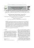 Sự phân bố và tích lũy các hợp chất peflo hóa (PFCs) trong nước và trầm tích tại hai hồ lớn của thành phố Hà Nội