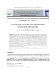 Effect of substituted concentration on structure and magnetic properties of Y3Fe5-xInxO12
