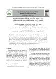 Nghiên cứu điều chế vật liệu ống nano TiO2, phân tích đặc tính và khả năng xử lý etanol