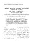 Tạo dòng và phân tích trình tự gen mã hóa flavonol synthase từ chè Trung Du Thái Nguyên