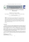 Data processing methods for deep level transients measurement