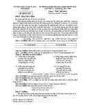 Đề thi Olympic môn Ngữ văn 8 năm 2017-2018 có đáp án - Sở GD&ĐT Nam Định