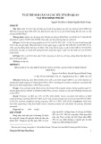 Tỷ lệ trẻ nhẹ cân và các yếu tố liên quan tại tỉnh Bình Phước