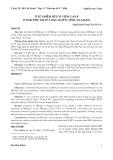 Tỉ lệ nhiễm siêu vi viêm gan B ở thai phụ tại TP. Long xuyên, tỉnh An Giang