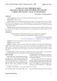 Nghiên cứu đặc điểm bệnh nhân hội chứng mạch vành cấp ở Bệnh viện Chợ Rẫy và Bệnh viện Đại học Y Dược TP. Hồ Chí Minh