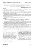 Tầm soát ung thư cổ tử cung ở phụ nữ các xã vùng sâu huyện Thủ Thừa tỉnh - Long An