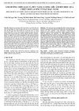 Ảnh hưởng thời gian và mức năng lượng siêu âm đến hiệu quả chiết isoflavone từ hạt đậu nành