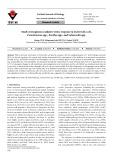Study of exogenous oxidative stress response in Escherichia coli, Pseudomonas spp., Bacillus spp., and Salmonella spp.