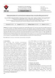 Characterization of a novel xylose isomerase from Anoxybacillus gonensis G2T