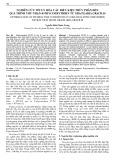Nghiên cứu tối ưu hóa các điều kiện thủy phân đến quá trình thu nhận R-phycoerythrin từ gracilaria gracilis