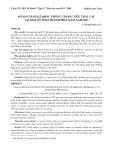 Đánh giá hoạt động phòng chống tiêu chảy cấp tại một số tỉnh thành phía Nam năm 2007