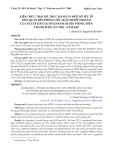 Kiến thức, thái độ, thực hành và một số yếu tố liên quan đến phòng sốt xuất huyết dengue của người dân xã Mỹ Khánh, huyện Phong Điền thành phố Cần Thơ - năm 2007