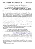 Đánh giá hiệu quả tái nhạy của phác đồ thuốc chloroquine trong điều trị sốt rét plasmodium falciparum chưa biến chứng tại vùng sốt rét lưu hành nặng, khu vực MT-TN, 2005-2007
