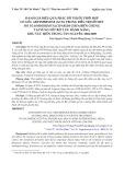Đánh giá hiệu quả phác đồ thuốc phối hợp có gốc artemisinine (acts) trong điều trị sốt rét do plasmodium falciparum chưa biến chứng tại vùng sốt rét lưu hành nặng, khu vực miền trung Tây Nguyên, 2004-2008