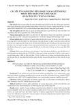 Các yếu tố ảnh hưởng đến hành vi quan hệ tình dục trước hôn nhân ở nữ công nhân quận Bình Tân TP.HCM năm 2008