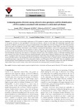 Estimating genetic diversity among selected cotton genotypes and the identification of DNA markers associated with resistance to cotton leaf curl disease