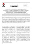 Apoptotic effect of cordycepin on A549 human lung cancer cell line