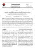 Biological synthesis of silver nanoparticles and evaluation of antibacterial and antifungal properties of silver and copper nanoparticles
