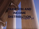 Lecture note Public finance (10th Edition) - Chapter 14: Taxation and income distribution