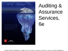 Lecture Auditing and assurance services (6/e) - Module F: Attributes sampling