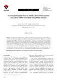 In vitro plant regeneration via petiole callus of Viola patrinii and genetic fidelity assessment using RAPD markers